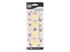 Lacy butterflies set 4 JEM (1101CC004)