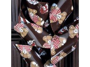 Medvědi FG49 transfer folie na čokoládu