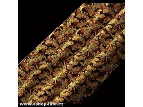 Motýlci FG3516 transfer folie na čokoládu