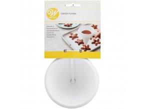 Nálevka na čokoládu a těsto (1904-552) Candy Funnel