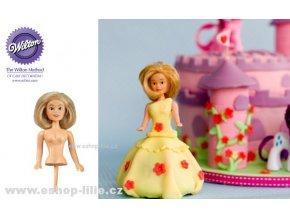 Panenka blondýnka - zápich do dortu