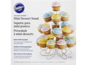 Spirálovitý stojan na malé muffiny 307-250