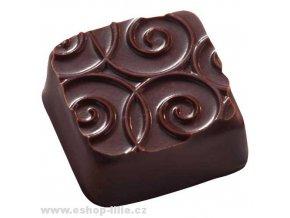 Arabesques struktur folie na čokoládu a marcipán