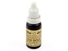 Béžová - Old Gold potravinářská tekutá barva