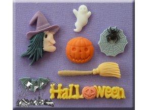 Halloween čarodějnice silikonová formička AM0040