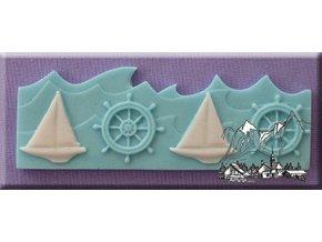 Námořní bordura AM0046 silikonová forma