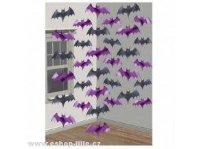 Řetězová dekorace Halloween-672000