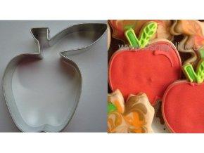 Jablko velké s lístkem vykrajovátko