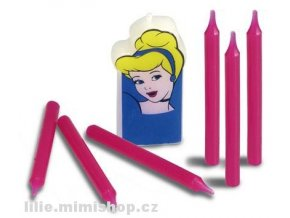 Disney princezny - dortové svíčky Popelka