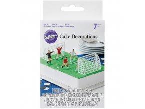 Fotbal plastová dortová dekorace