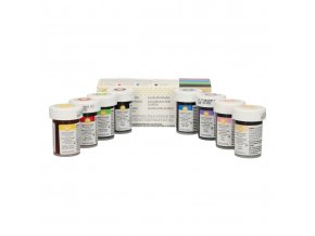 wilton food colouring 8 colours set