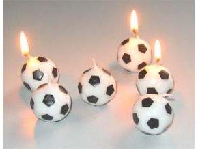 svíčky fotbal