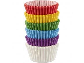Rainbow malé cukrářské košíčky 415-5171 150ks