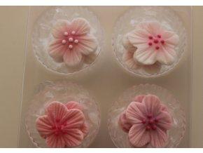 Růžové cukrové květiny 12 ks 424 Culpitt