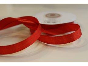 Červená saténová stuha TS12-007