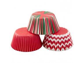 Vánoční cukrářské košíčky 415-7768 Wilton 75ks