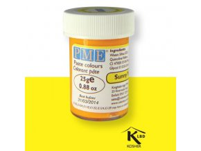 Sunny Yellow žlutá gelová barva PME PC1053