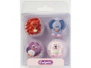 12 Baby Animals cukrová dekorace Culpitt 351