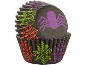 Pavouk malé cukrářské košíčky 100ks 415-0-0069