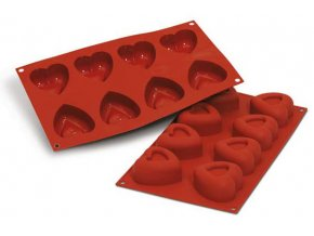 Srdce silikonová forma SF088 Silikomart