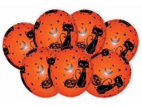 Halloween balónky 7ks B32