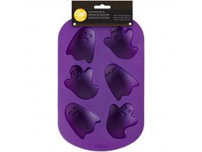 2105 0 0105 Wilton Ghost Silicone Mold 6 Cavity A3