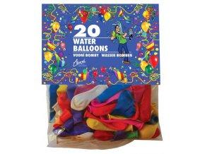 Vodní bomby 20ks balónky B-1