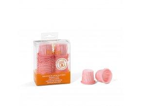 Růžové cukrářské koíčky s lemem 0339801