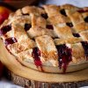 600 Mixed berry plum pie 21