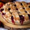 600 Mixed berry plum pie 21