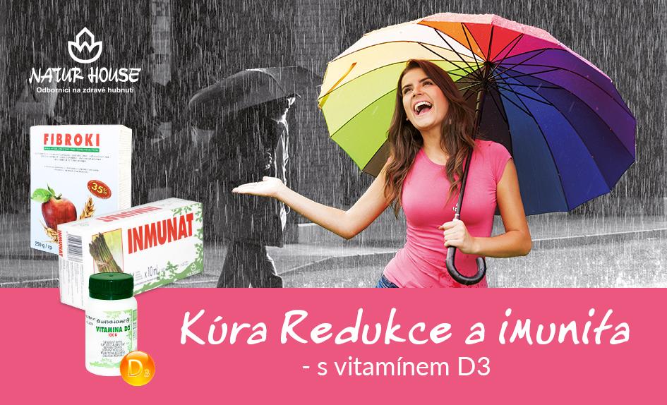 Redukční kúra a podpora obranyschopnosti s vitamínem D