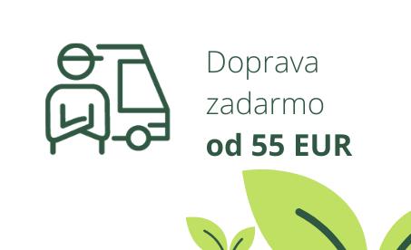 Doprava zdarmo nad 60 EUR