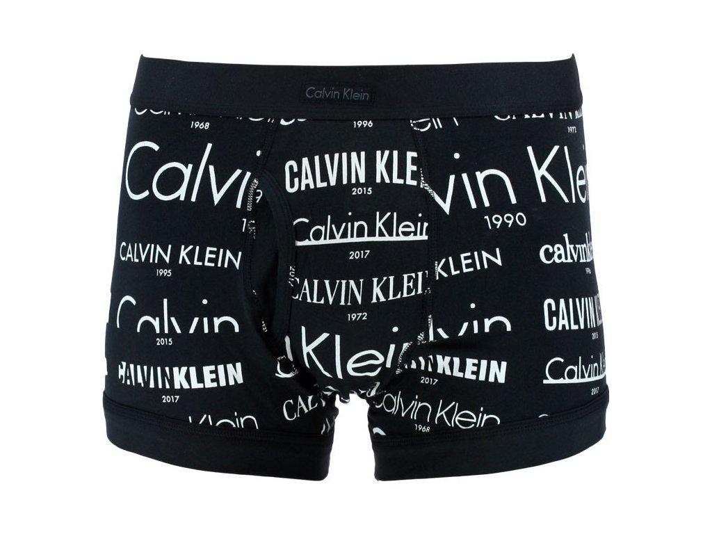 pánské boxerky Calvin Klein Heritage logo černé NB1325A 2HV