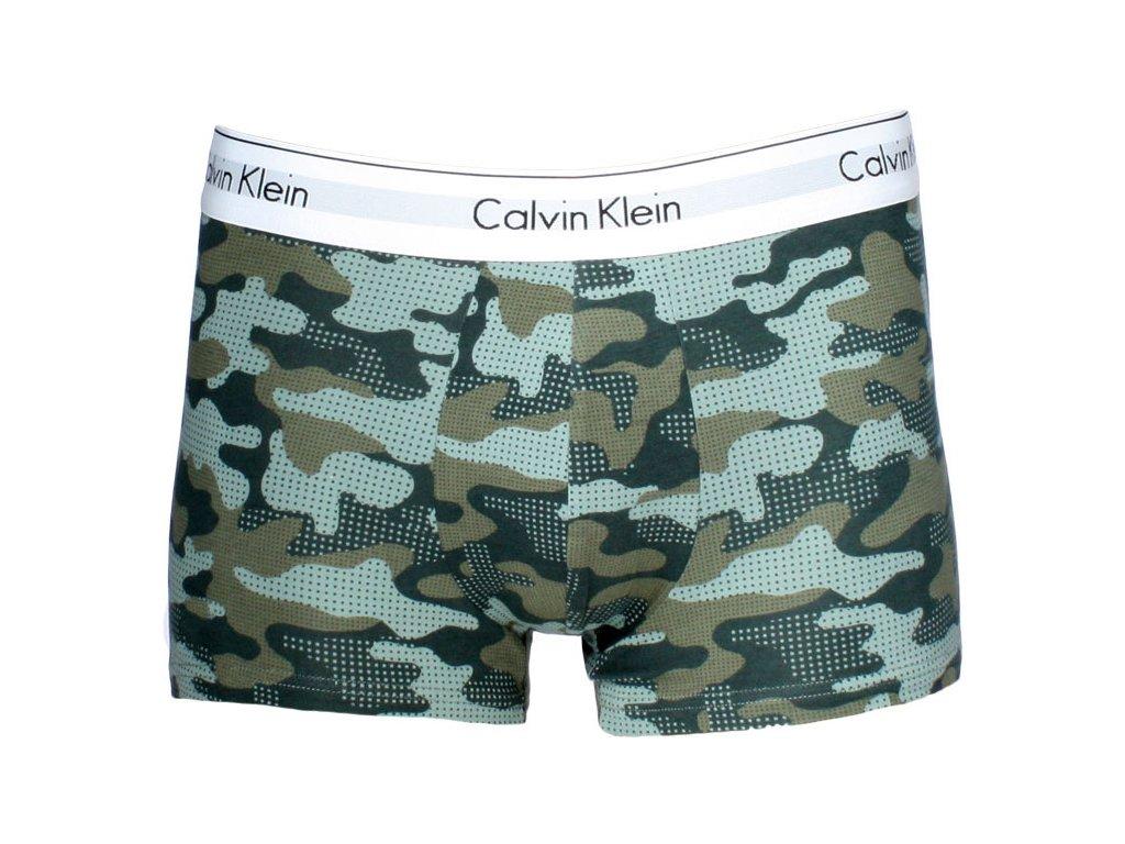 061f578389 Pánské boxerky Calvin klein limitovaná kolekce potisk khaky maskáč ...