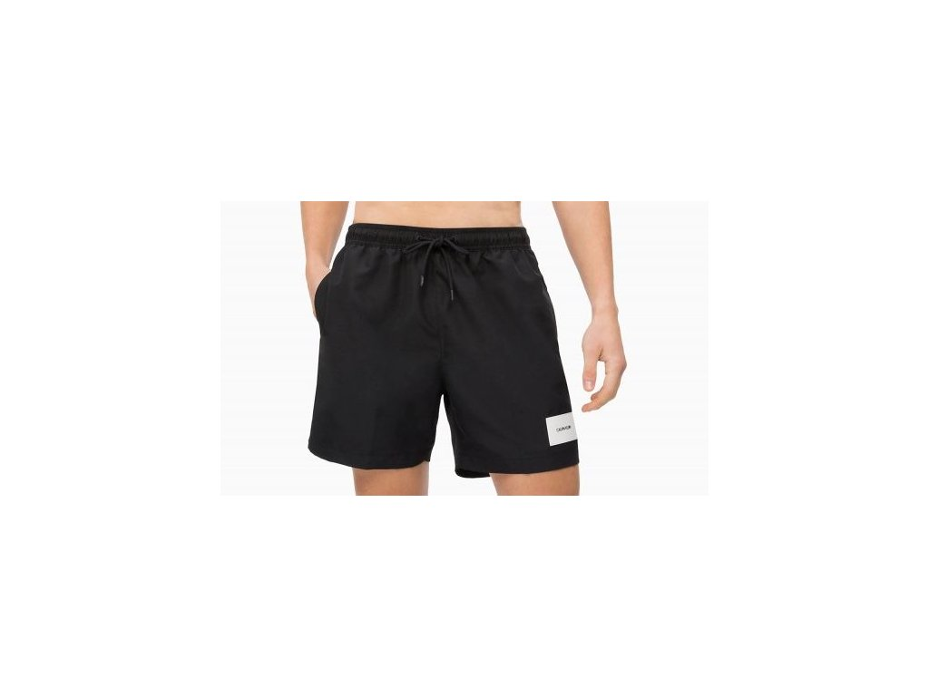 9bec158a6b Calvin Klein pánské plavky medium černé (KM0KM00296 001 medium ...