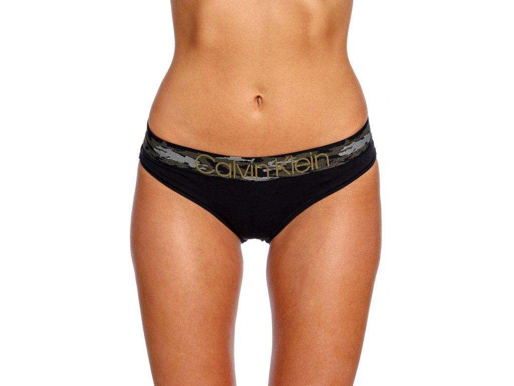 calvin klein bikini black