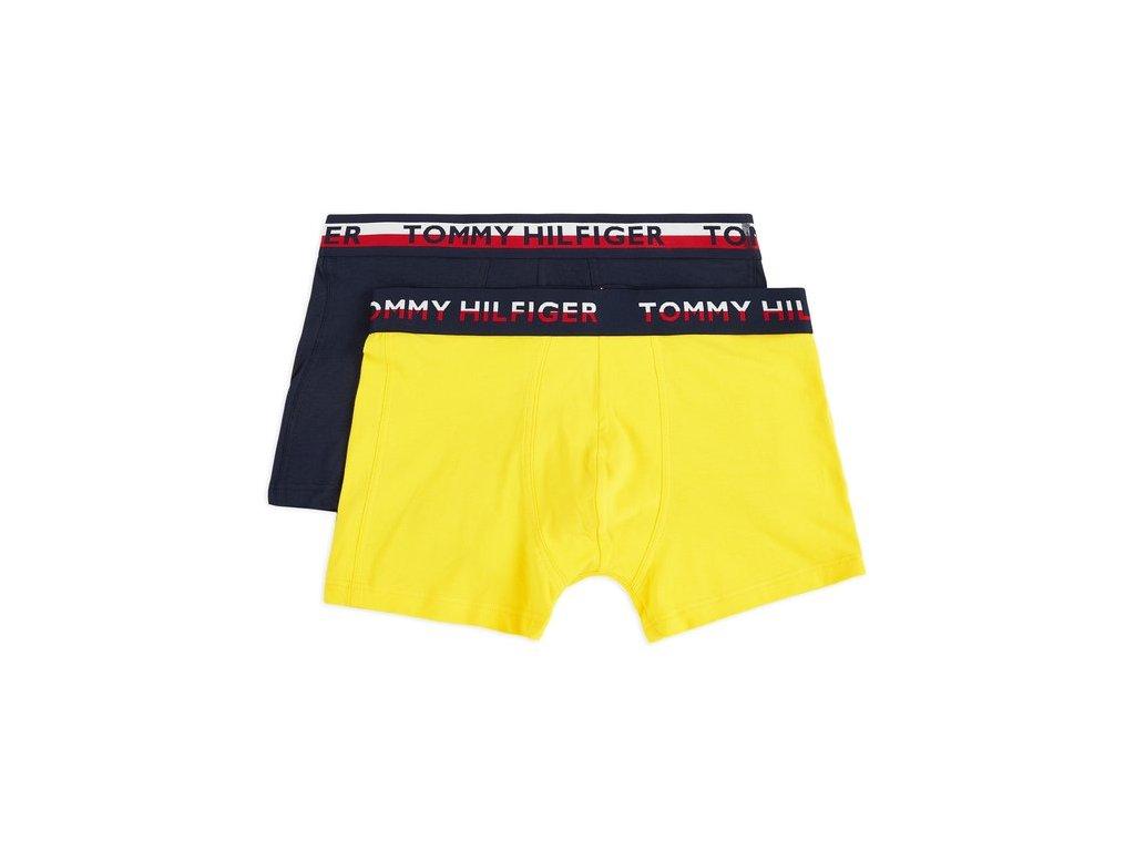 accessori tommy hilfiger underwear logo waist trunks 2 pack primrose yellow navy blazer 242275 674 1