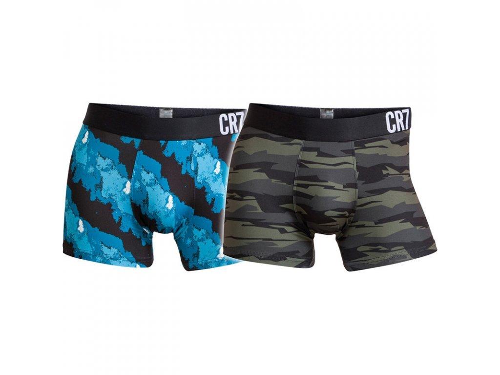 Sportovní boxerky 2pack značky CR7 limitované kolekce dlouhá nohavička 8502-49-415