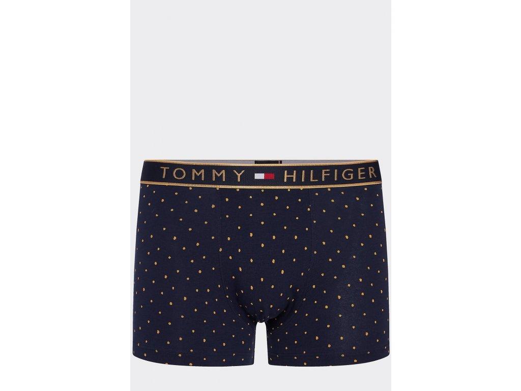 tommy hilfiger tmave modre panske boxerky trunk golden dot um0um01558 416 D 5d963075ebdcd