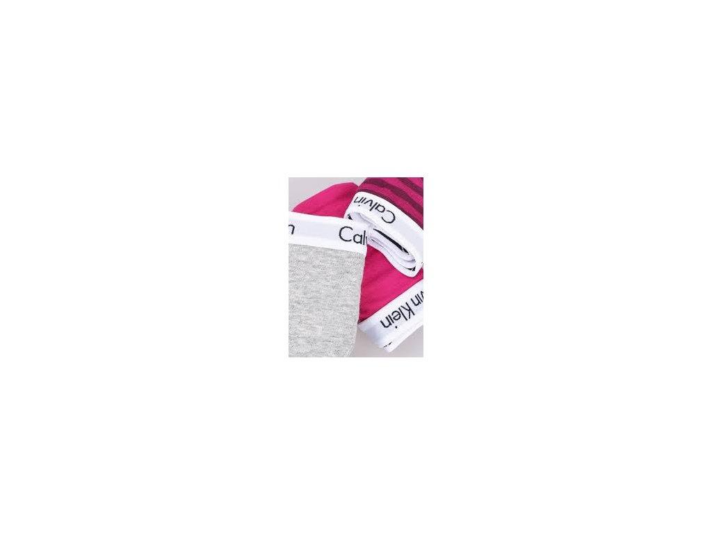 3pack dámských tang Calvin Klein QD3587E-KRB detail