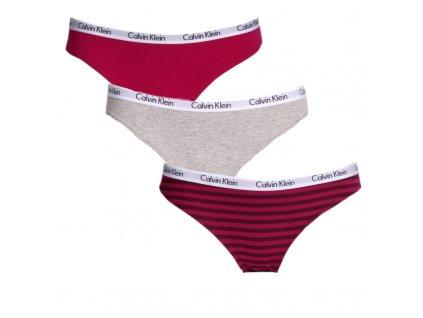 3pack dámských Kalhotek Calvin Klein QD3588E-KRB hlavní