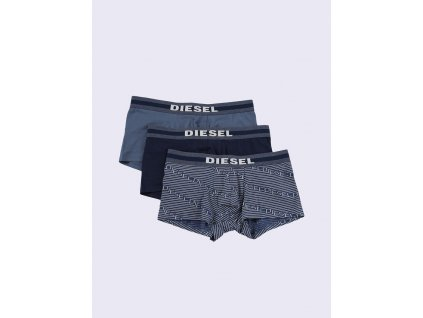 3ks Balení Diesel pánských boxerek s krátkou nohavičkou denim 00SAB2-0WANM-01