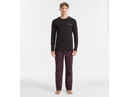 Pánské pyžamo - Limitovaná Vánoční kolekce - Calvin Klein (Velikost XL)