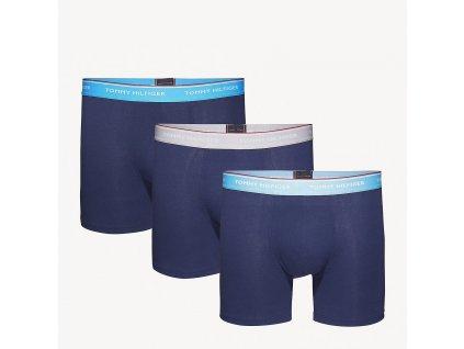 Tommy Hilfiger  3 KS BALENÍ Boxerek s EXTRA DLOUHOU nohavičkou tmavě modré ( Tommy hilfiger 3pack UM0UM00010 897  )