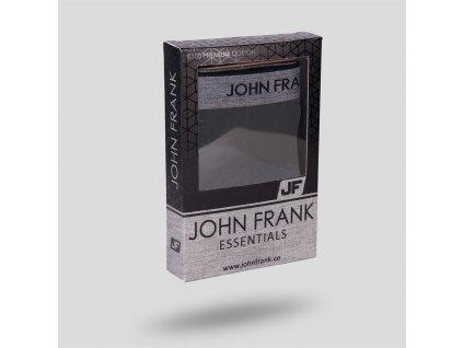 John Frank Pánské boxerky kolekce essentials - prémiové kvality materiálu JFBES01