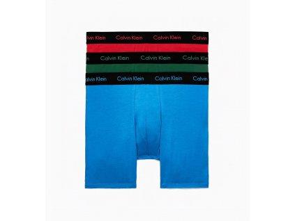 Calvin Klein 3KS BALENÍ Boxerek s Extra dlouhou nohavičkou barevné ( 000NB1770A EVB)