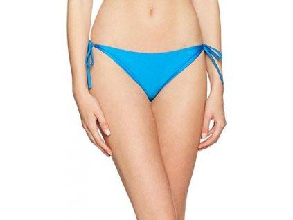calvin klein spodnie damskie bikini string side tie bikini kolor niebieski rozmiar 40 kw0kw00047 488