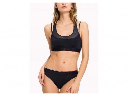 Tommy Hilfiger dámské bikini/kalhotky modré UW0UW00711 416