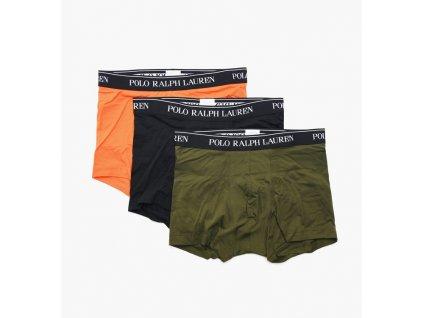 Limitka boxerek Polo Ralph Lauren Pánské 3 ks balení kratší nohavička (klasický střih) 714662050033