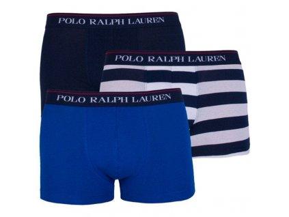 Limitka boxerek Polo Ralph Lauren Pánské 3 ks balení kratší nohavička (klasický střih) 714662050029
